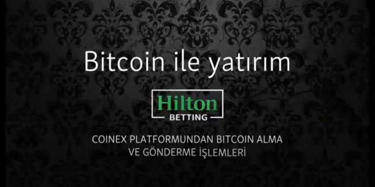 Hiltonbet para yatırma